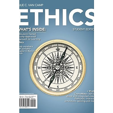 Ethics (with CourseMate Printed Access Card) (Explore Our New Philosophy 1st Editions), Used Book, (9781133308911)