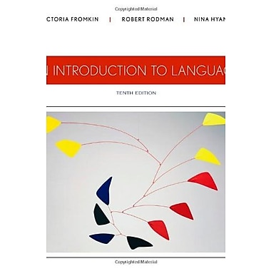 An Introduction to Language, Used Book, (9781133310686)