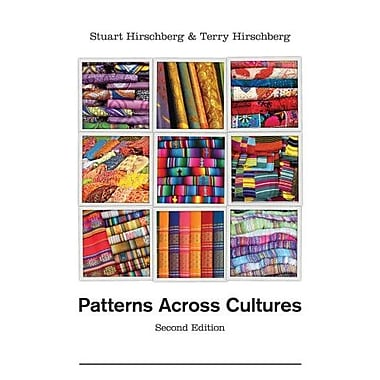 Patterns Across Cultures, New Book, (9781133311072)