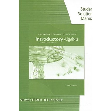 Ssm Intro Algebra 5e, New Book, (9781133363989)