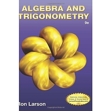Algebra & Trigonometry, Used Book, (9781133959748)