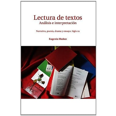 Lectura de textos: Anailisis e interpretacian, New Book, (9781256756668)