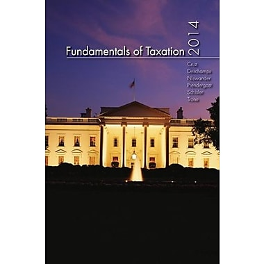 MP Fundamentals of Taxation 2014 Edition with TaxAct Software CD-ROM, Used Book, (9781259162336)