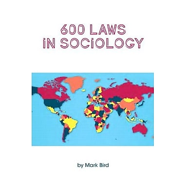 600 Laws in Sociology, Used Book, (9781269332088)