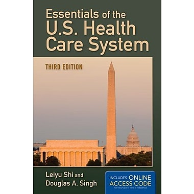Essentials Of The U.S. Health Care System, Used Book, (9781284035421)