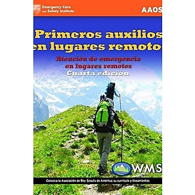 Wilderness First Aid, Spanish Edition, New Book, (9781284042559)