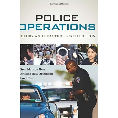 Police Operations: Theory and Practice, New Book, (9781285052625)