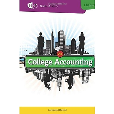 College Accounting, Chapters 1-9 (New in Accounting from Heintz and Parry), New Book, (9781285055459)