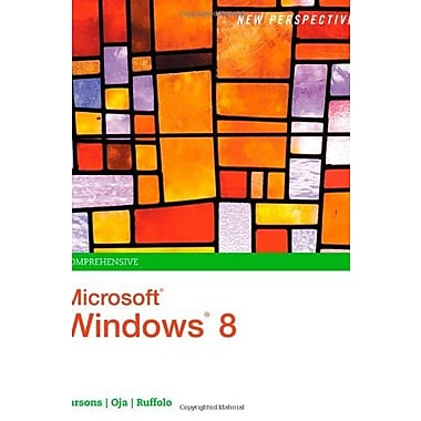 New Perspectives on Microsoft Windows 8, Comprehensive (New Perspectives), Used Book, (9781285080871)