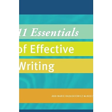 11 Essentials of Effective Writing (Explore Our New Dev. English 1st Editions), Used Book, (9781285092751)