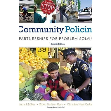 Community Policing: Partnerships for Problem Solving, New Book, (9781285096674)