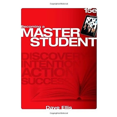 Becoming a Master Student, New Book, (9781285193892)