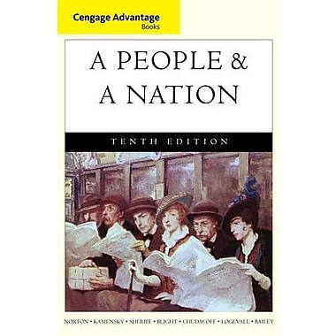 Cengage Advantage Books: A People and a Nation: A History of the United States, New Book, (9781285425870)