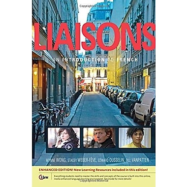 Liaisons: An Introduction to French, Enhanced, New Book, (9781285433950)