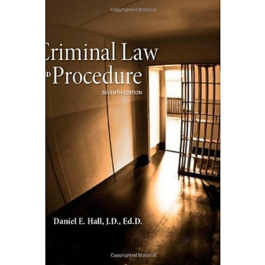 Criminal Law and Procedure, New Book, (9781285448817)