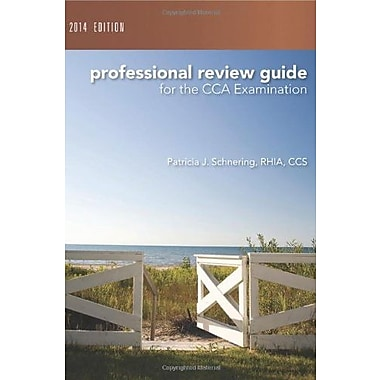 Professional Review Guide for the CCA Examination, 2014 Edition, Used Book, (9781285735504)