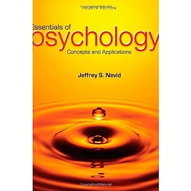 Essentials of Psychology: Concepts and Applications, New Book, (9781285751221)