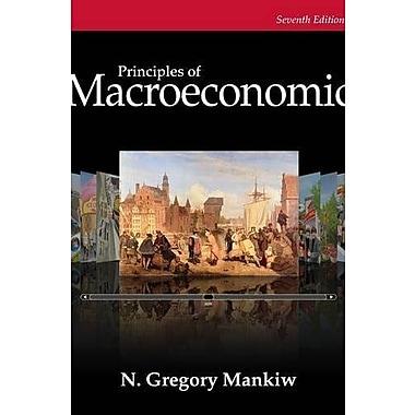 Bundle: Principles of Macroeconomics, 7th + Aplia Printed Access Card Mankiw, New Book, (9781305132498)
