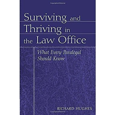 Surviving and Thriving in the Law Office, New Book, (9781401838966)