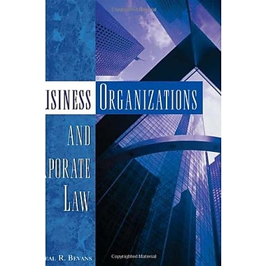 Business Organizations and Corporate Law, New Book, (9781401870836)