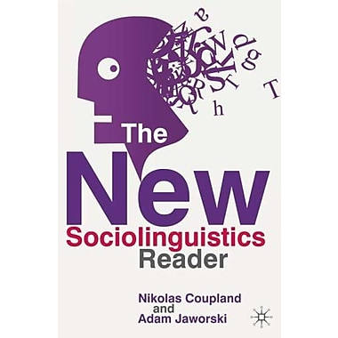 The New Sociolinguistics Reader, New Book, (9781403944153)