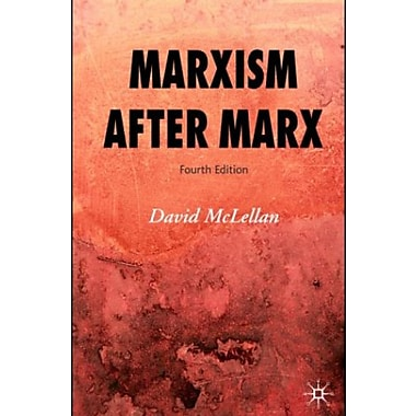 Marxism after Marx, Fourth Edition, New Book, (9781403997289)
