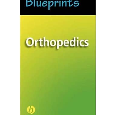 Blueprints Orthopedics (Blueprints Pockets), New Book, (9781405104012)