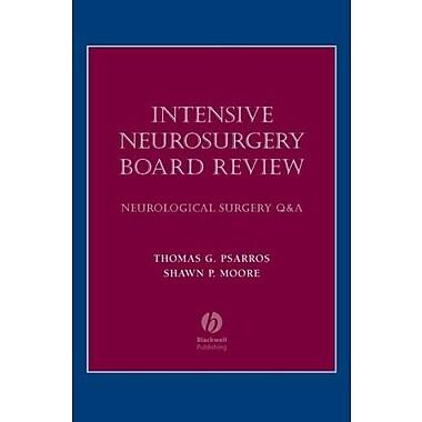 Intensive Neurosurgery Board Review: Neurological Surgery Q&A, New Book, (9781405104791)