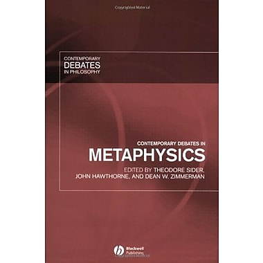 Contemporary Debates in Metaphysics, New Book, (9781405112291)