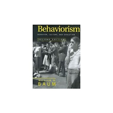 Understanding Behaviorism: Behavior, Culture, and Evolution, New Book, (9781405112628)