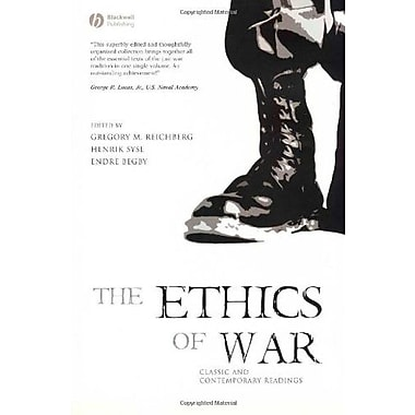 The Ethics of War: Classic and Contemporary Readings, New Book, (9781405123785)