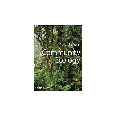 Community Ecology, New Book, (9781405124119)
