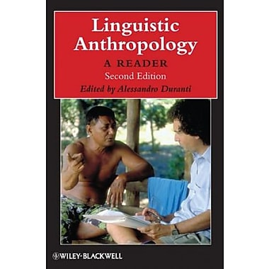 Linguistic Anthropology: A Reader, New Book, (9781405126328)