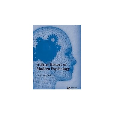 A Brief History of Modern Psychology, Used Book, (9781405132060)