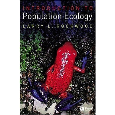 Introduction to Population Ecology, New Book, (9781405132633)