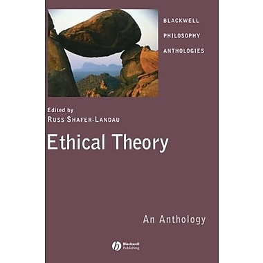 Ethical Theory: An Anthology, New Book, (9781405133203)