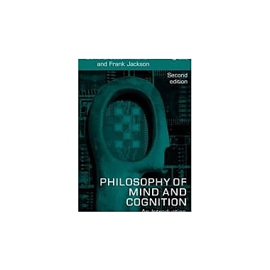 Philosophy of Mind and Cognition: An Introduction, New Book, (9781405133241)