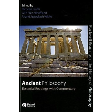 Ancient Philosophy: Essential Readings with Commentary, Used Book, (9781405135634)