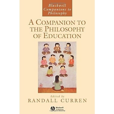 A Companion to the Philosophy of Education, New Book, (9781405140515)