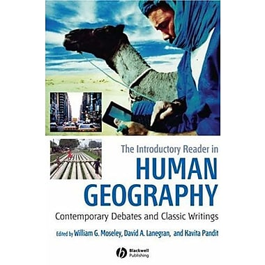 The Introductory Reader in Human Geography: Contemporary Debates and Classic Writings, New Book, (9781405149228)
