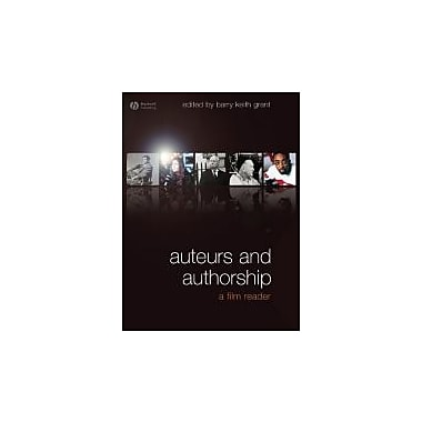 Auteurs and Authorship: A Film Reader, New Book, (9781405153348)
