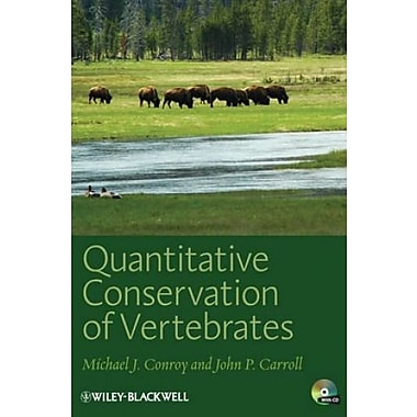 Quantitative Conservation of Vertebrates, New Book, (9781405182287)