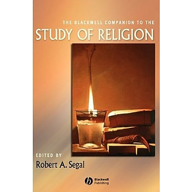 The Blackwell Companion to the Study of Religion, New Book, (9781405185981)