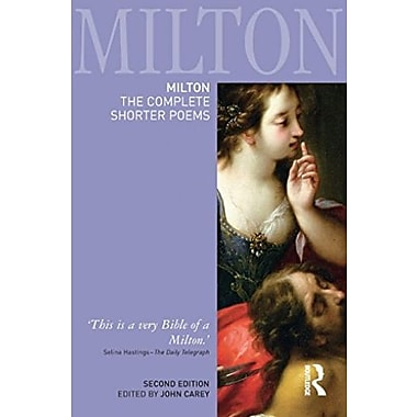 Milton: The Complete Shorter Poems, New Book, (9781405832793)