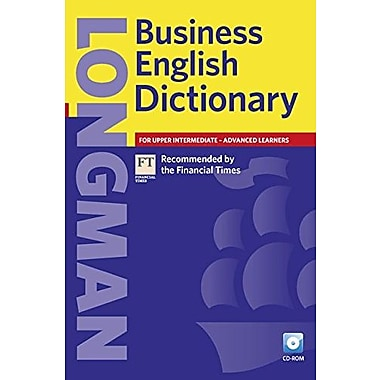 Longman Business English Dictionary, Paperback with CD-ROM (2nd Edition) (Other Dictionaries), Used Book, (9781405852593)