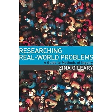 Researching Real-World Problems: A Guide to Methods of Inquiry, New Book, (9781412901956)