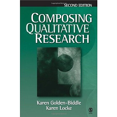Composing Qualitative Research, New Book, (9781412905619)