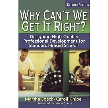 Why Can't We Get It Right?, New Book, (9781412906524)