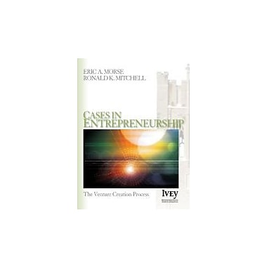 Cases in Entrepreneurship: The Venture Creation Process (The Ivey Casebook Series), Used Book, (9781412909761)