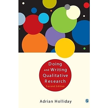 Doing & Writing Qualitative Research, New Book, (9781412911306)